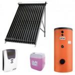 PACHET SOLAR COLECTOR CU TUB VIDAT ECOTUBE NEW 20 SI BOILER ECOUNIT 200-2C WB